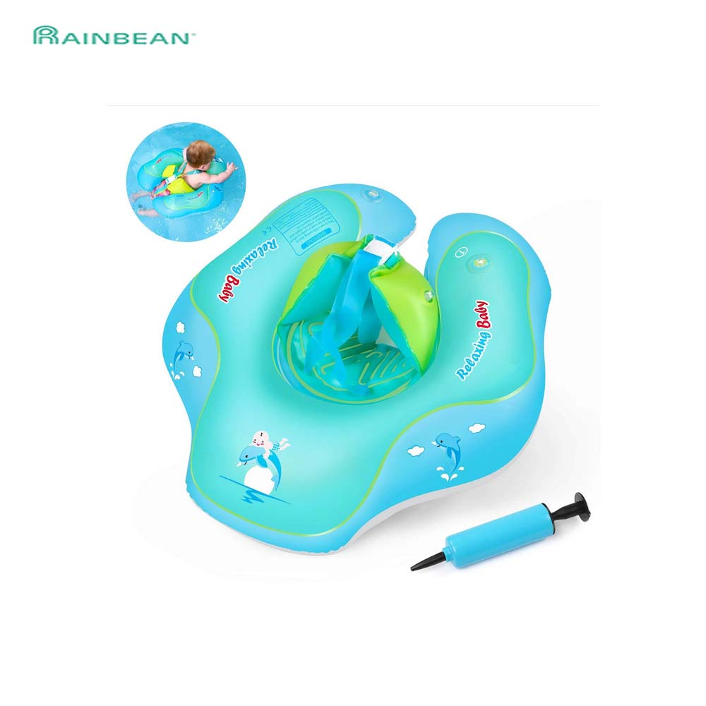 Portable Summer Baby Kids Cartoon Safety Swimming Ring Inflatable Swim Float Water Fun Pool Toys Water Sport