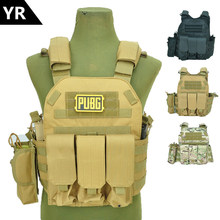 Molle Tactical Vest Body armor Hunting plate Carrier Airsoft 094K M4 Pouch Combat Gear Multicam(China)