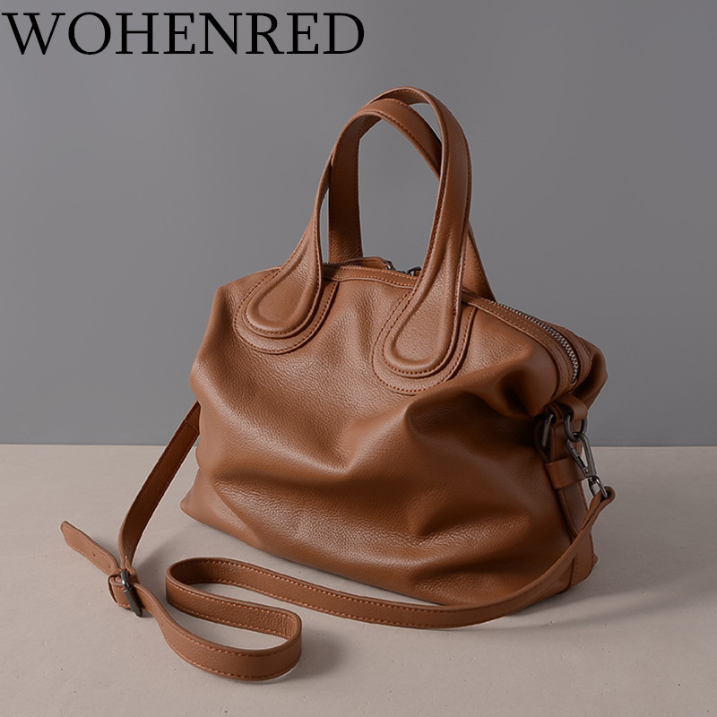 Luxury Handbags Women Bags Designer 2017 High Quality Fashion Casual Tote Handbag Women Brand Real Genuine Leather Shoulder Bags [whorse] brand luxury fashion designer genuine leather bucket bag women real cowhide handbag messenger bags casual tote w07190
