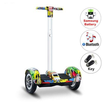 10 self balancing scooter hoverboard skateboard adult patinete electric scooter remote control skateboards with handle self balancing scooter electric skateboard hoverboard 10 inch electric skate board haveboards scooter handle scooter overboard