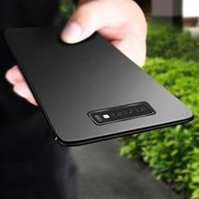 Keajor case for Samsung Galaxy S10 Case Ultra Thin Soft Matte Silicon TPU Bumper Cover For Plus S10e
