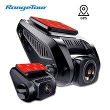 4 K 2160 P Встроенный gps WiFi ADAS Автомобильный видеорегистратор Регистратор для транспорта, с двумя объективами видеокамера