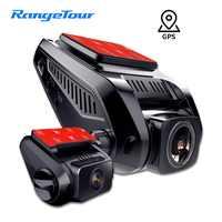 4K 2160P Built in GPS WiFi ADAS Car DVR Recorder Dash Cam Dual Lens Vehicle Camera Camcorder