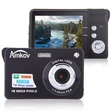 "Amkov CDC32 2.7 ""TFT HD Mini Macchina Fotografica Digitale 18MP 8x Zoom Video Macchina Fotografica Cattura Sorriso Mini Macchina Fotografica Anti  shake Videocamera Digitale"