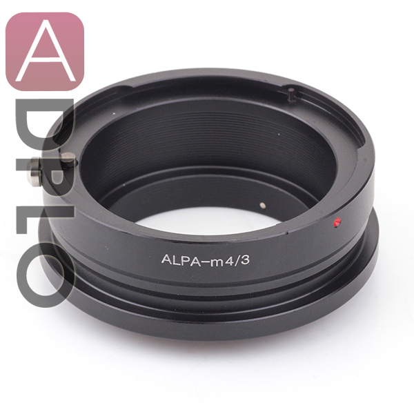 Pixco Adapter Suit for ALPA Mount Lens to Micro 4/3 M4/3 Camera E-PL6 E-P5 E-PL5 E-PM2 E-P3 E-PL3  GM1 GX7 GF6 GH3 G5 GF5