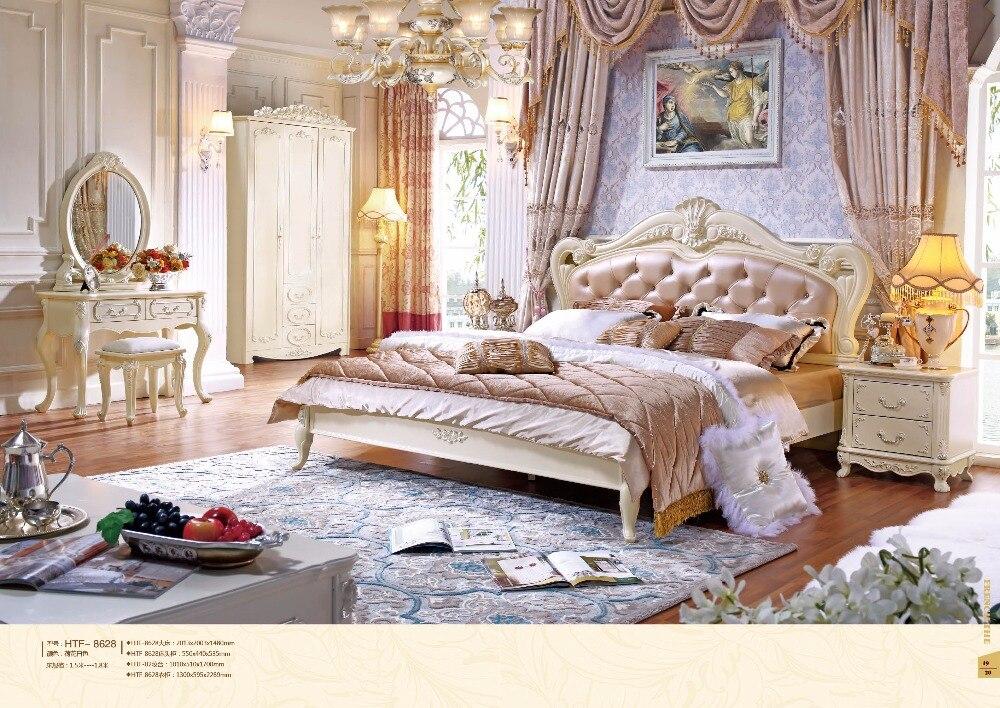 Freies Verschiffen Nach Bucuresti, Rumänien!! Top Fashion Moderne Schlafzimmer Set Möbel Gute Quolity Förderung Billig Preis Bett Zimmer