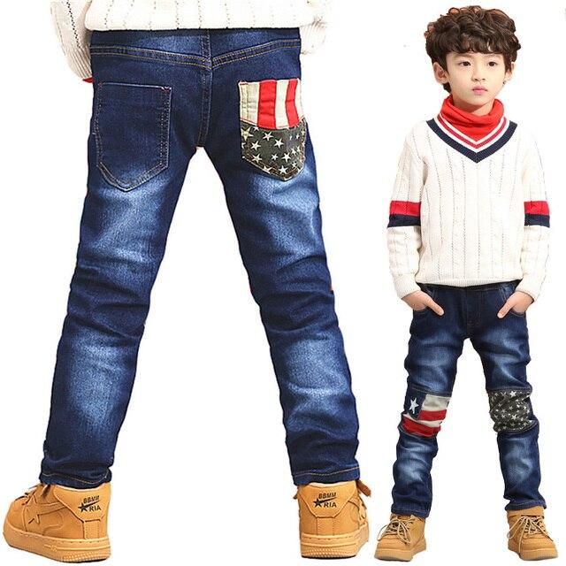 68640e05ea4c8 New Style 2018 Fall Harem Long Pants Jean Teen Boys Clothing Denim Trousers  for Kids Age