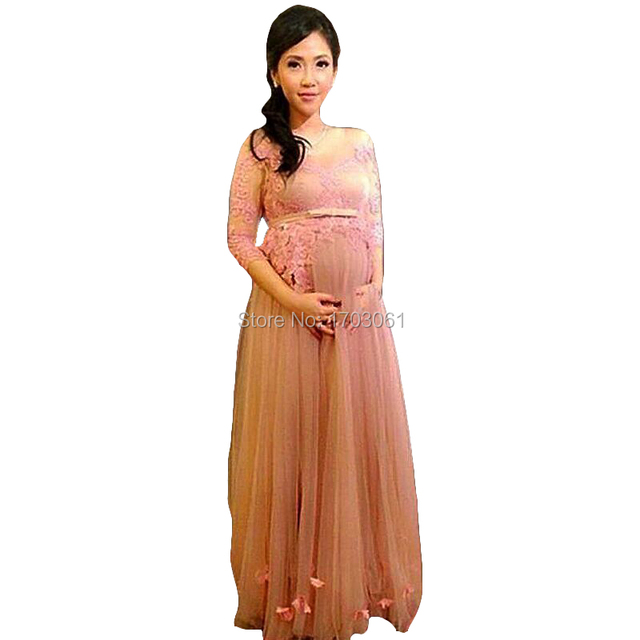 Formal Party Elegant Evening Dresses For Pregnant Women Gala ...