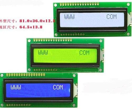 1 Pièces Nouveau 2004 20X4 5 V Character LCD Display Module jaune Rétroéclairage