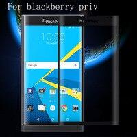 Gehärtetem Glas Displayschutzfolie Für Blackberry Priv Neueste Neue Film 3D Voll Abgedeckt Schwarz Gold Klare Oberfläche Abdeckungs-fall-schutz