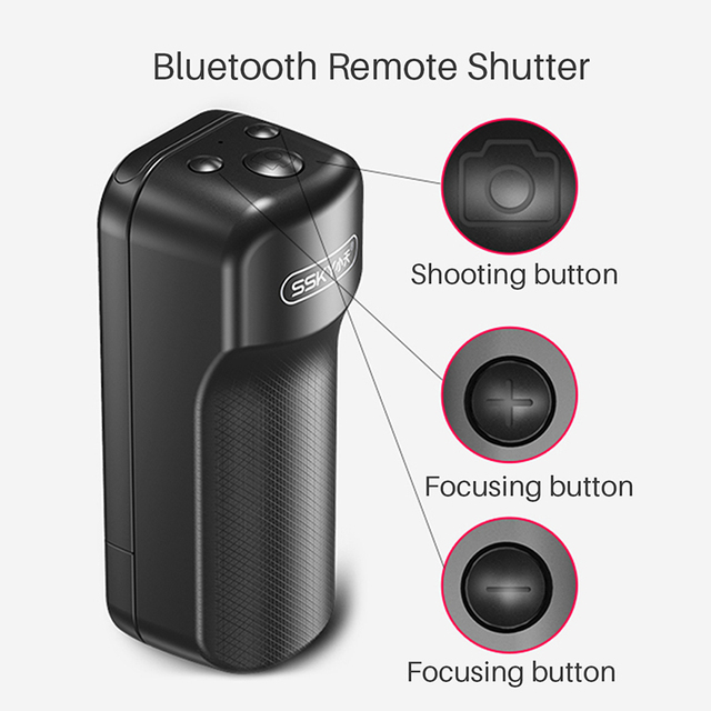 Ulanzi Selfie Booster Handle Grip Bluetooth Photo Stablizer Holder with Shutter Release for iPhone X 8 7 Xiaomi Huawei Samsung