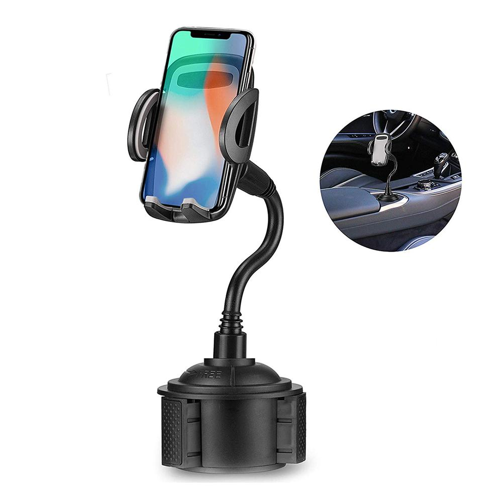 2019 Soporte Movil Para Coche Car Water Cup Holder Car Mount For Cell Phone Universal Adjustable Cup Holder Phone Holder Car
