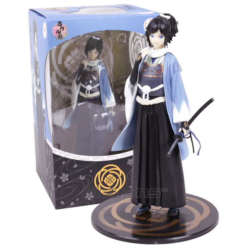 Touken Ranbu Online Yamatonokami Yasusada 1/8 Scale PVC Figure Collectible Model Toy 21cm touken ranbu sword dance mikazuki