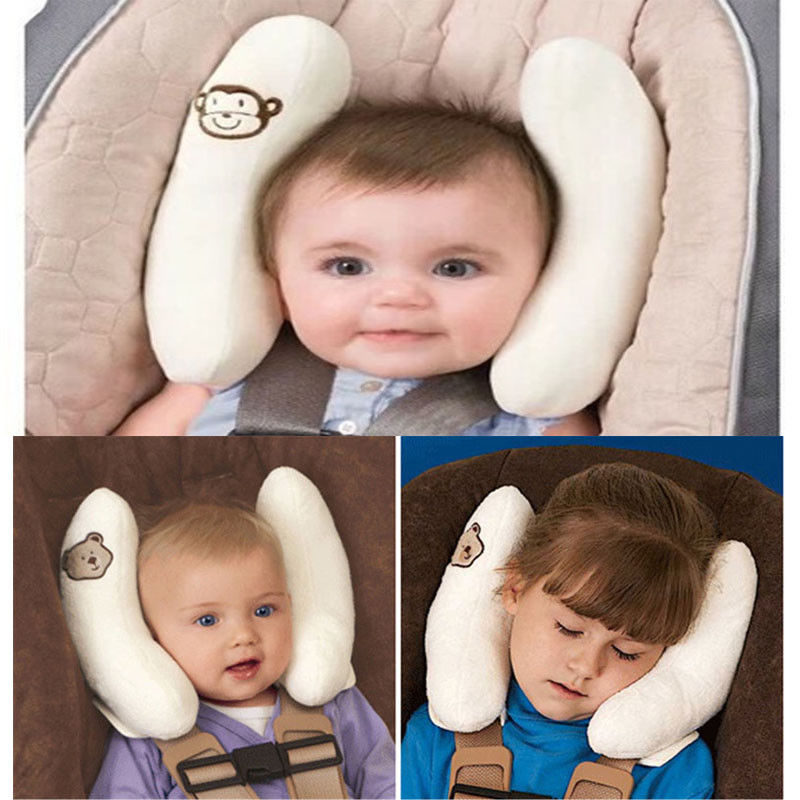 Baby Infant Car Travel Sleeping Pillow Headrest Head Neck Seat Covers Pillow Baby Safty Pillow Car Seat Sleep Nap Holder