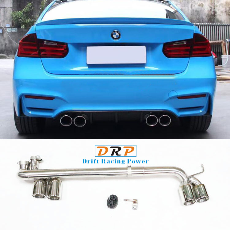 Bell Sell the Simple type for Modified Car Rear 304 Stainless Steel Exhaust Muffler Tip fit 17-18 BMW 3 Series modified M3,320
