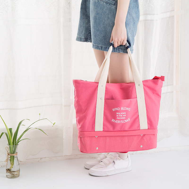 Ms Travel Storage Bags Tote Luggage bag Oxford cloth Shoulder Bags Clothes Shoes Cosmetic Organization Home Accessories Supplies
