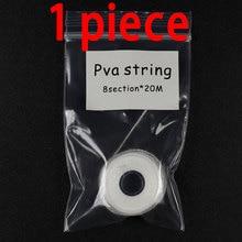 Bimoo 20m/Piece PVA String Carp Fishing PVA Line PVA Thread Bait Rig Accessory Barbel Fishing Terminal Tackles