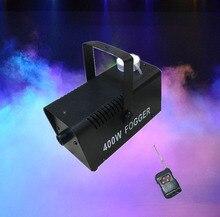 Draadloze Afstandsbediening Rookmachine 400W Rookmachine Fog Machine Dj Disco Party Stadium Effect Licht Dj Apparatuur 400W fogger