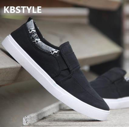 KBSTYLE Nueva llegada precio Más Bajo Mens Transpirable Zapatos de Lona Casuales