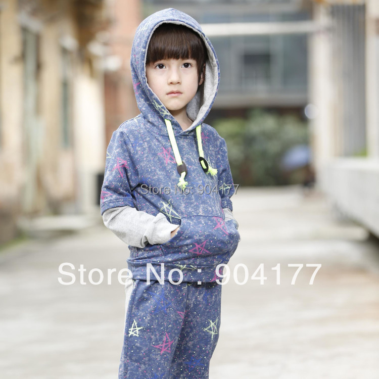 2pc/set brand autumn spring boy clothing sets /children sports suit /child winter outerwear/sweatshirt for boy стоимость