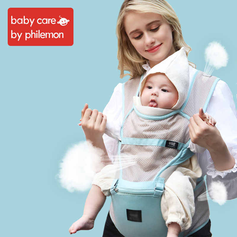 43d188a658b Babycare Ergonomic Baby Carrier Breathable Mesh Waist Stool Adjustable  Prevent O Type Legs Newborn Sling Kangaroos