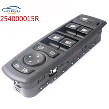 Black Color Window Mirror Master Switch For Renault Fluence 2008-2016 7700817337 25400000 809610006R