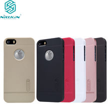 NILLKIN Super Frosted Shield case for iPhone 5S/iPhone SE/iPhone 5SE/iPhone 5e/iPhone 7c(China)