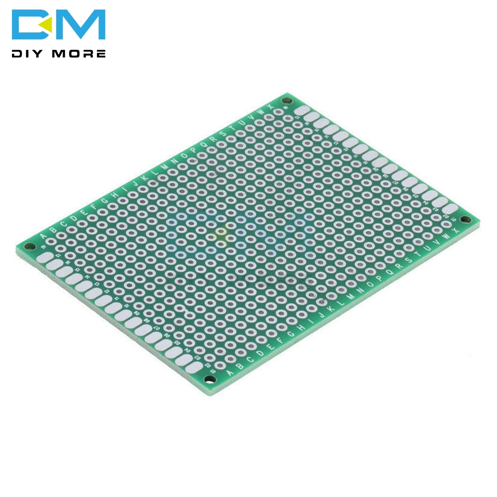 5PCS Double Side 5x7 5 x 7 cm 50x70 50x70mm 5X7CM Prototype Universal FR-4 Glass Fiber PCB Board