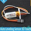 O Envio gratuito de 1 Conjunto De Cama Auto Nivelamento Sensor com Auto Recurso de Toque 3D para 3D Impressora de nivelamento Melhorar A Impressão de Toque precisão
