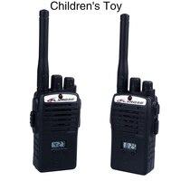 Peradix Offre Spéciale 2 pcs 50 m distance Sans Fil Talkie Walkie Enfant Enfants Ensemble Enfants Portable Électronique Jouets