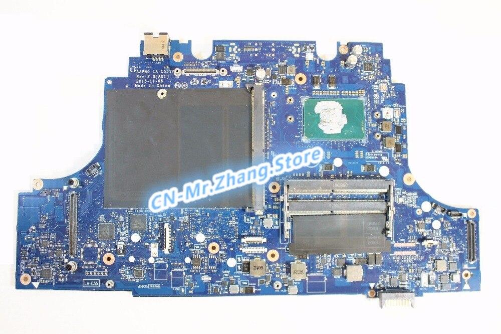 SHELI FOR Dell Precision 7710 Laptop Motherboard W/ i7-6920HQ CPU 5RY82 05RY82 CN-05RY82 DDR4 LA-C551P Test 100% goodSHELI FOR Dell Precision 7710 Laptop Motherboard W/ i7-6920HQ CPU 5RY82 05RY82 CN-05RY82 DDR4 LA-C551P Test 100% good
