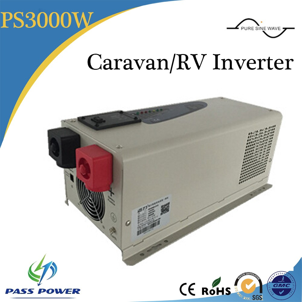 Factory Sell 2016 Hot Sale Single Phase DC to AC Inverter Low Frequency Caravan RV Inverter 3000W