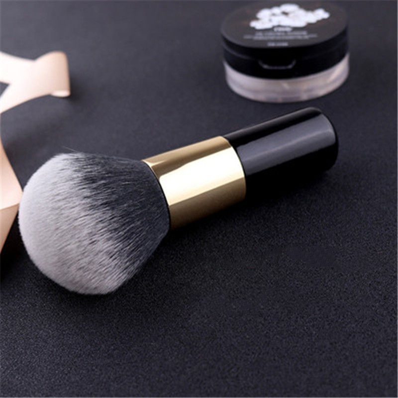 Image 5 - Big Size Makeup Brushes Cream for foundation Powder brush Set Soft Face Blush Brush Professional Large Cosmetics Make Up Tools-in Eye Shadow Applicator from Beauty & Health