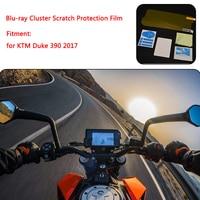 For KTM Duke 390 DUKE 2017 Instrument Dashboard Cluster Scratch Protection Film Screen Protector Blue Light