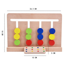 early Learning Education Math boys girls kids numbers interactive board Toys wooden children Montessori Game Abacus montessori
