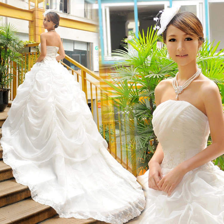 Wedding Outfits For Women: Korean Princess Wedding Dresses Women Wear Costumes