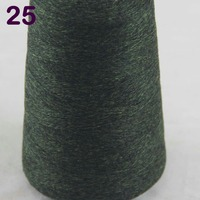 Sales 1X100g High Quality 100 Pure Cashmere Warm Soft 100 Cashmere Hand Woven Tower Yarn Olive