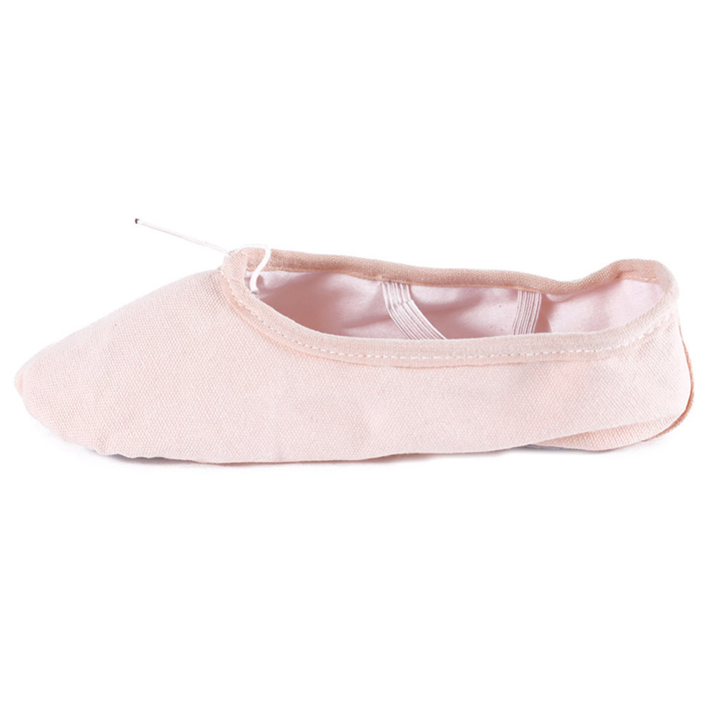 Free Shipping New brand Canvas Dance Shoes Ballet Shoes Soft Sole Yoga  Shoes Women Girls Kid 4 Colors-in Dance shoes from Sports   Entertainment  on ... bda7511dba16