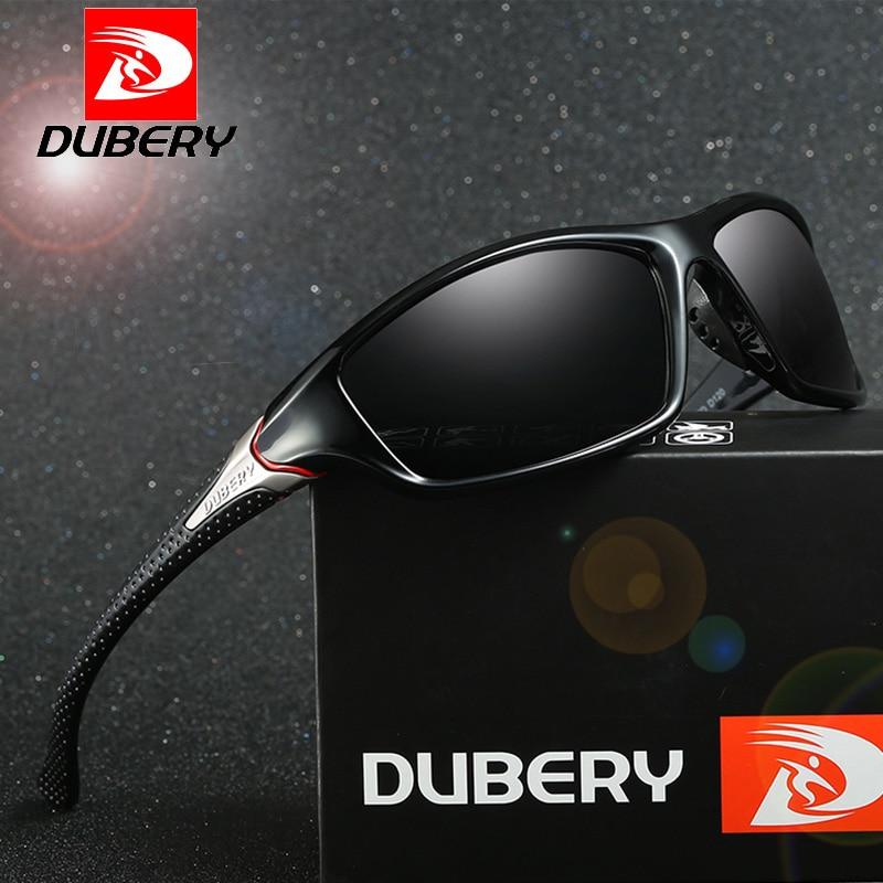 DUBERY Brand Designer Drive Outdoor Travel Polarized Sunglasses Men Vintage Sun Glasses Of Men Goggles HD Shades Male Gafas X6
