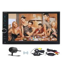Android 6.0 Car Video NO dvd Player GPS Navi 2 Din Car Stereo Navigation two 2din Head Unit supports OBD2 Wifi 3G/4G+FREE camera