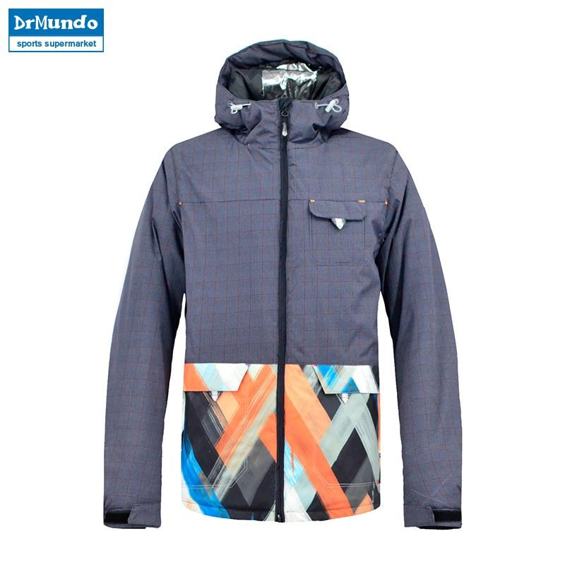 2018 New Brand Ski Jacket Men Waterproof Warm Winter Snow Jackets Windproof Outdoor Sportwear Skiing Coat Snowboarding Clothing