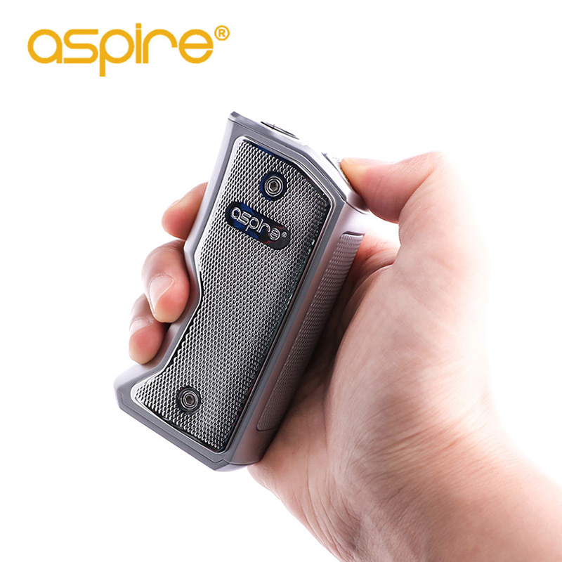 Aspire Feedlink Box Mod Vape E Cigarette 80W with 7.0ml Capacity Support by Single 18650 Battery Fit Feedlink Revvo Squonk Kit original aspire feedlink revvo squonk kit with 80w revvo squonk mod 2ml revvo boost vaporizer tank arc coil aspire vape kit