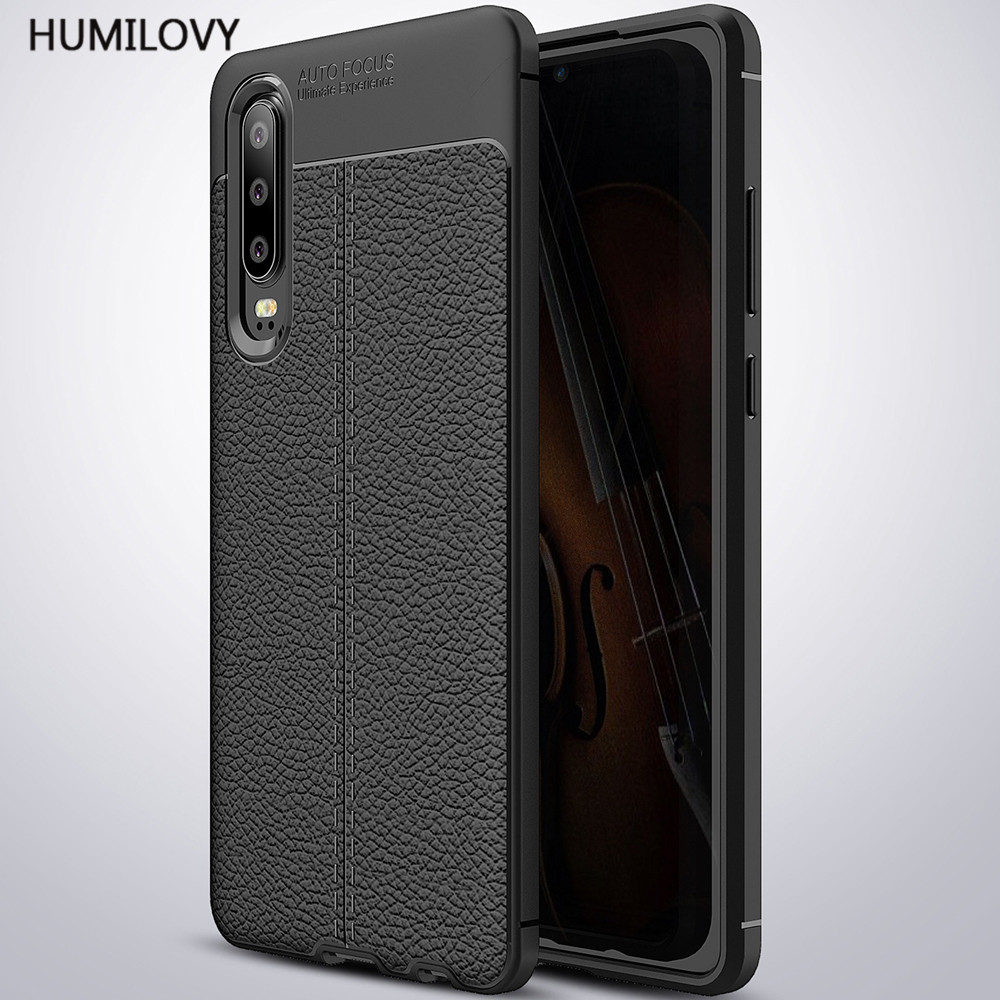 For Coque Huawei P30 Case Luxury Soft Silicone Leather Coque Phone Case For Huawei Ascend P30 Back Cover For Huawei P30 Fundas