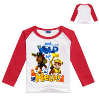 High Quality Child Patrol Dog Costume Cartoon Pajamas Chase The Mascot Costume Clothes Pants Casual Cute