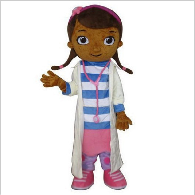 Doc McStuffins mascot costume McStuffins adult mascot costume Cosplay Costume