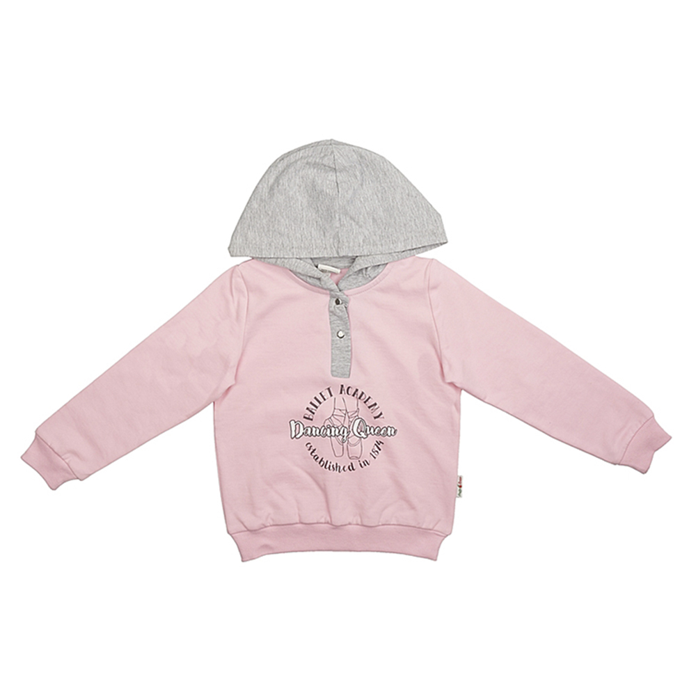 Hoodies & Sweatshirts Frutto Rosso for girls FRG72133 Cardigan Sweatshirt Coat Children clothes Kids zip up jaquard sweater cardigan