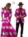 Африканские Платья для Женщин Африканских Платье Базен Riche Женщины Макси Платье мужская Blazer Slim Fit Блейзер Мужчины Повседневная Плюс Размер 6XL WYQ04