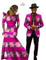African Dresses for Women African Dress Bazin Riche Women Maxi Dress Mens Blazer Slim Fit Blazer Men Casual Plus Size 6XL WYQ04