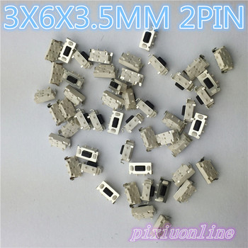 G71Y wysokiej jakości 50 sztuk partia SMT 3X6X3 5MM 2PIN dotykowy takt wciskany mikro przełącznik G71 chwilowy gorąca sprzedaż 2017 tanie i dobre opinie Przełączniki 2 PIN STAINLESS STEEL Dotykowy włącznik wyłącznik Pixiuonline Inne