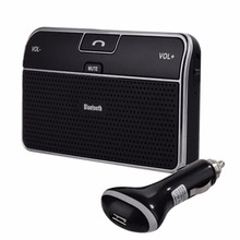 Sun Visor Bluetooth Car Kit Clip Auto Sun Shade Multipoint Wireless Bluetooth 4.0 Speakerphone Speaker Handsfree USB Car-charger